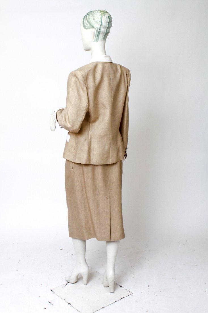 Hermes Woman's Suit / Jacket & Skirt Set, Vintage - 3