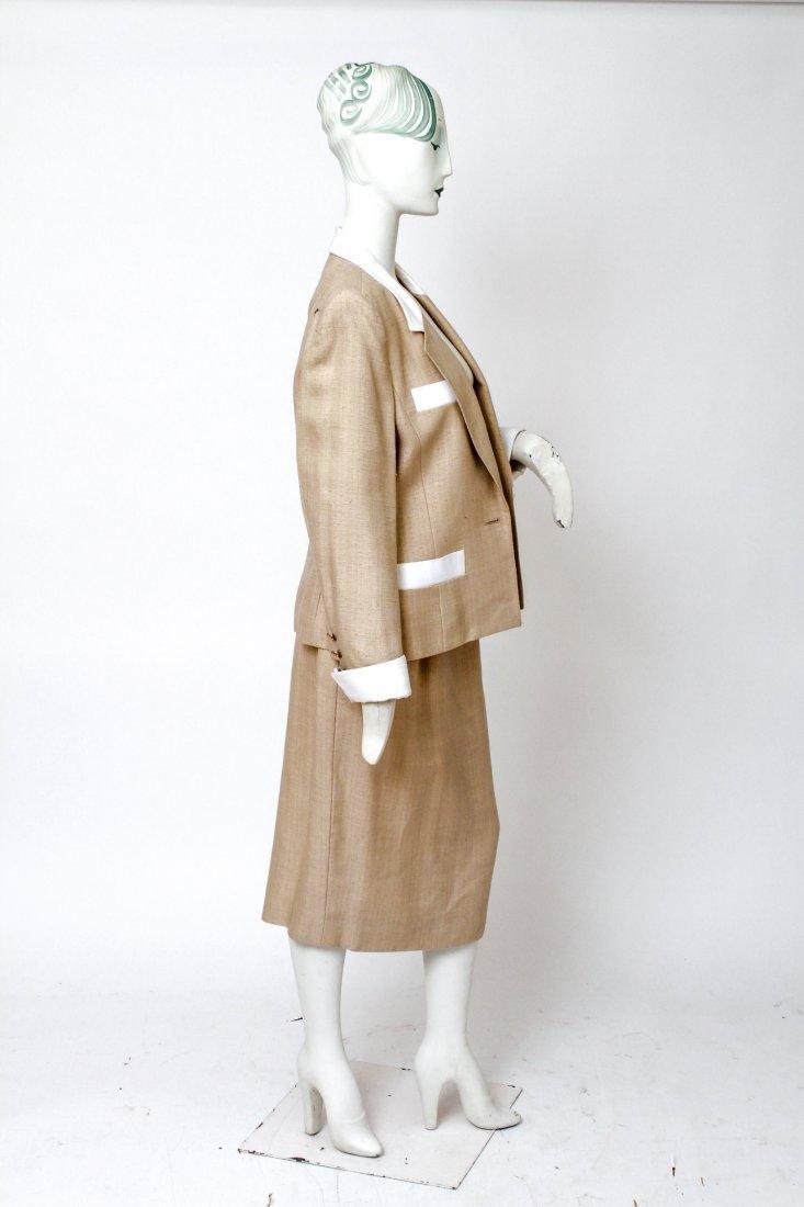 Hermes Woman's Suit / Jacket & Skirt Set, Vintage - 4