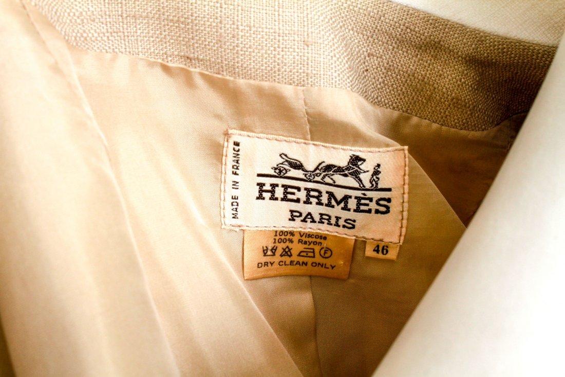 Hermes Woman's Suit / Jacket & Skirt Set, Vintage - 5