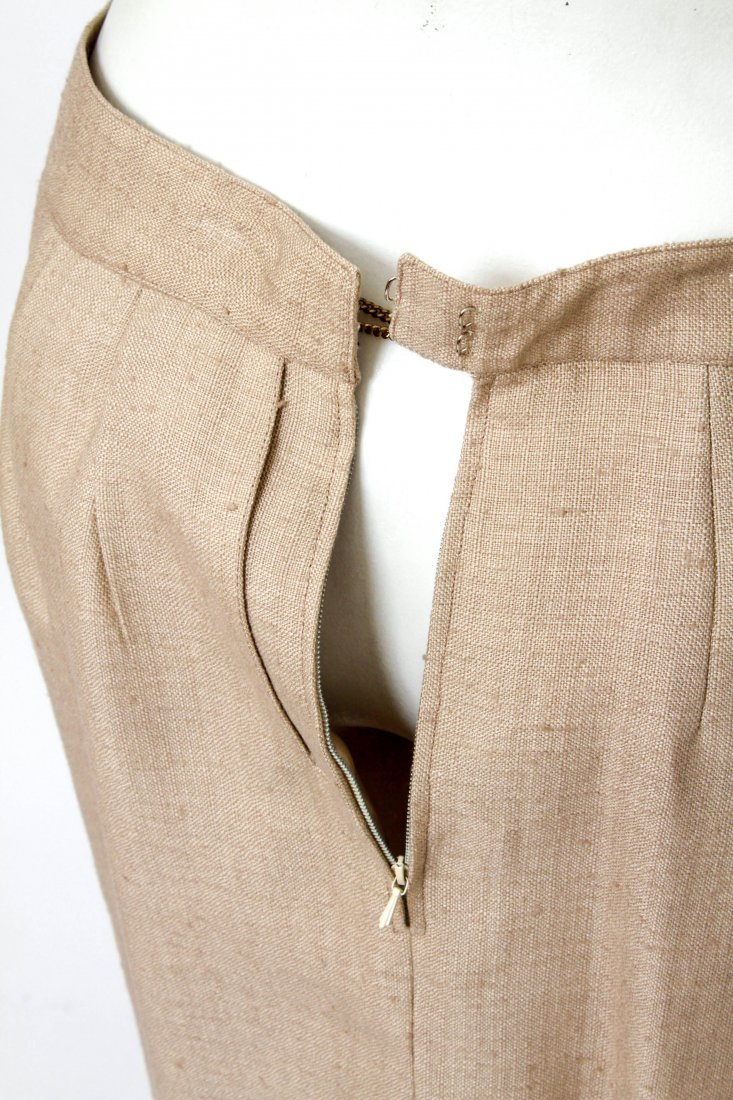 Hermes Woman's Suit / Jacket & Skirt Set, Vintage - 6