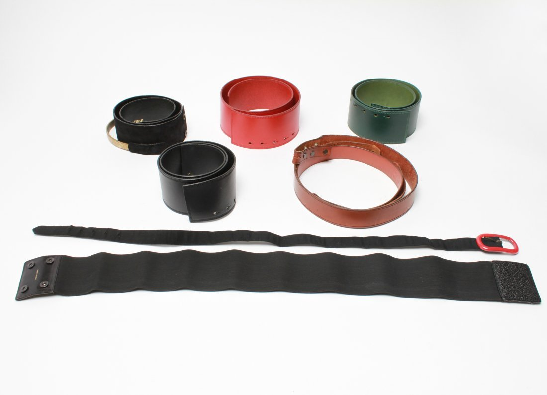 Leather & Other Belts incl Kelian, Group of 8 - 5