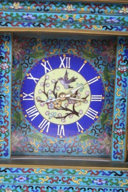 1999: Cloisonne Case Clock