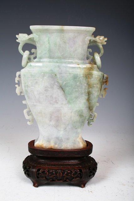 2016: Chinese Lavender Jade Jadeite Vase