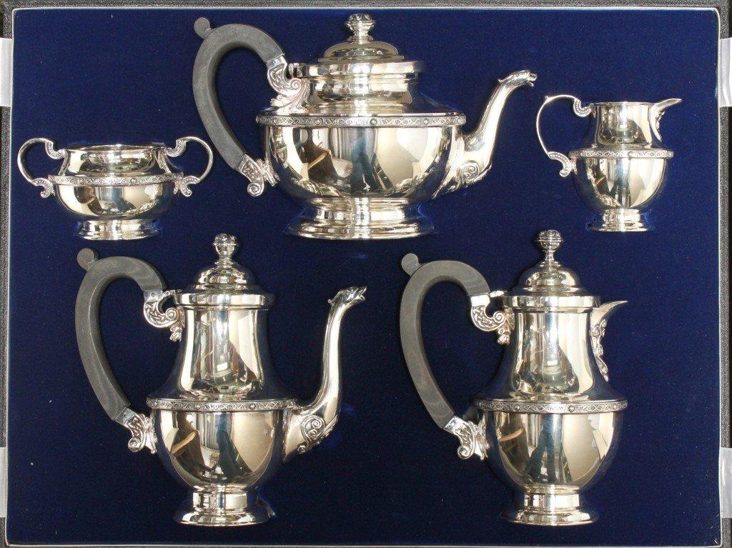 Royal Irish Silver Ltd Tea / Coffee Service Set 5