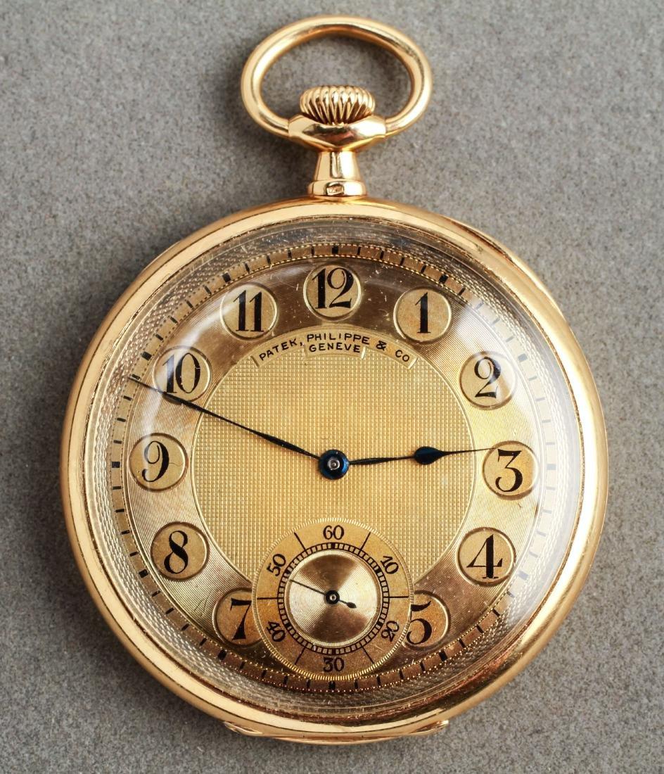 18K Gold Patek Philippe Geneve Pocket Watch