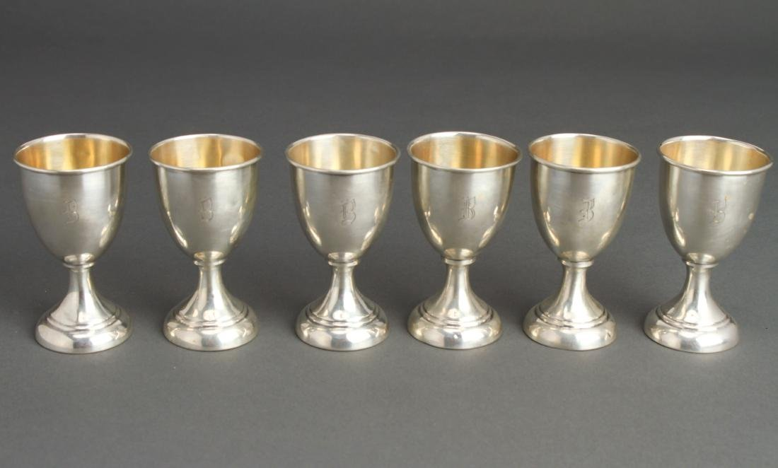 Sterling Silver Cordials Set of 6