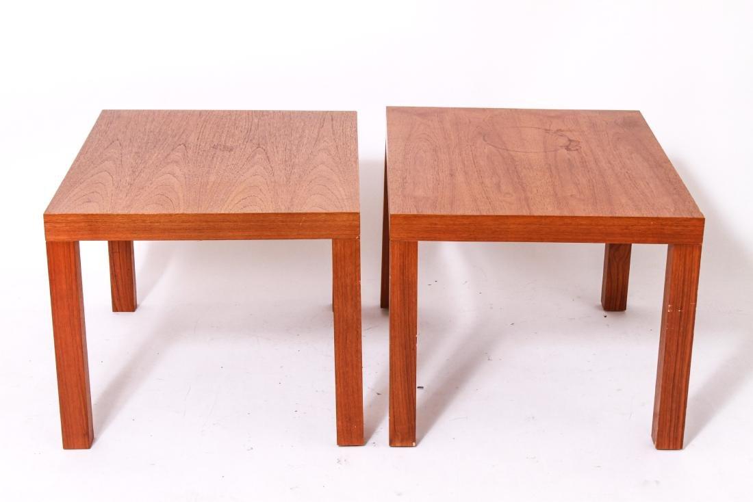 Centrum Mobler Danish Modern Side Tables, Pair