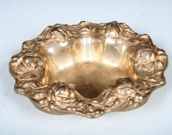 13: Rank M. Whiting Sterling Silver Art Nouveau Bowl