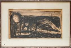 Giuseppe Napoli Reclining Nude Mixed Media Drawing