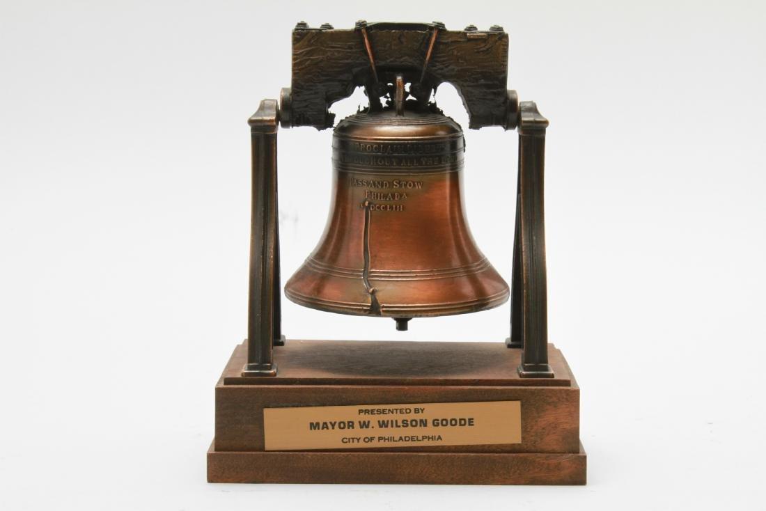 Liberty Bell Cast Metal Presentation Statue