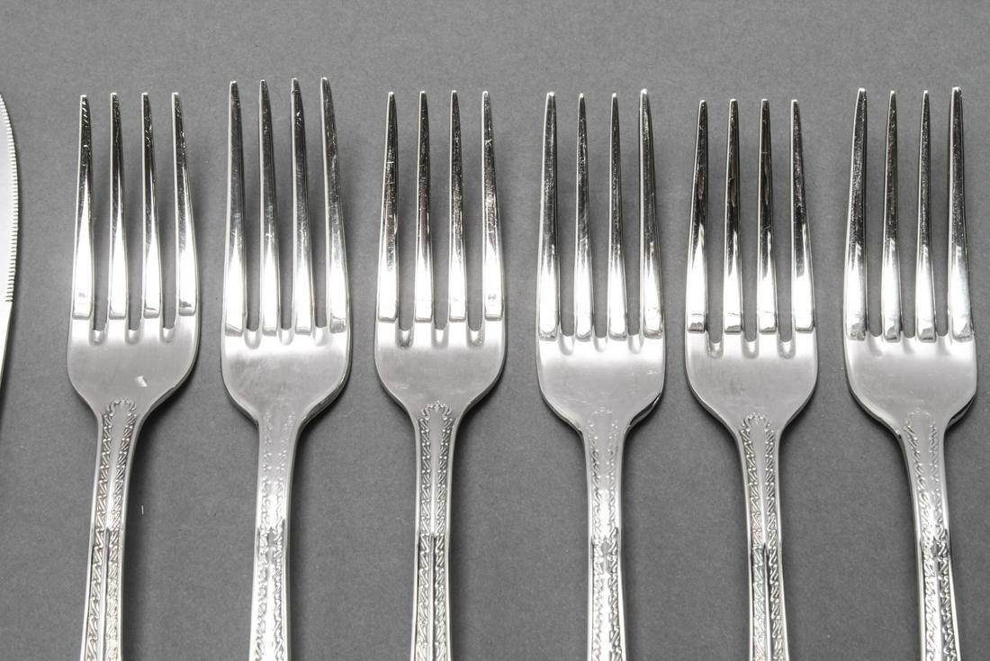 Rosenthal Versace Silver-Plate Medusa Flatware, 10