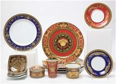 Rosenthal Versace Medusa Porcelain Dishes 13 Pcs