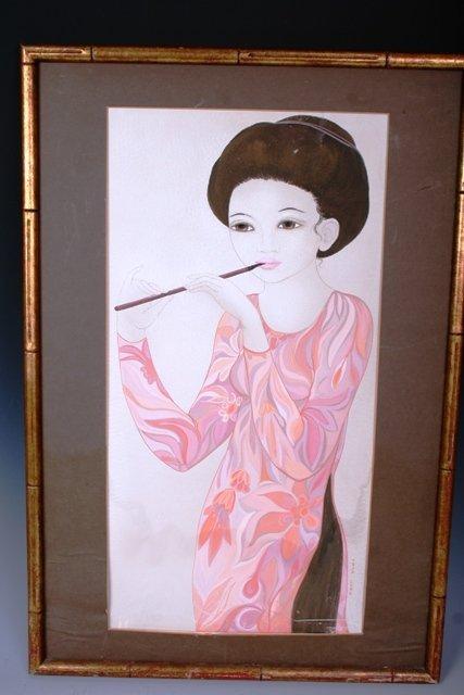 19: Tran Long Gouche Portrait of a Lady