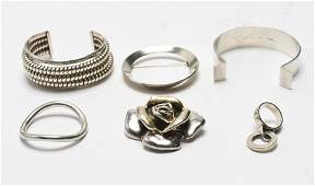 Hans Hansen Silver Jewelry and Others