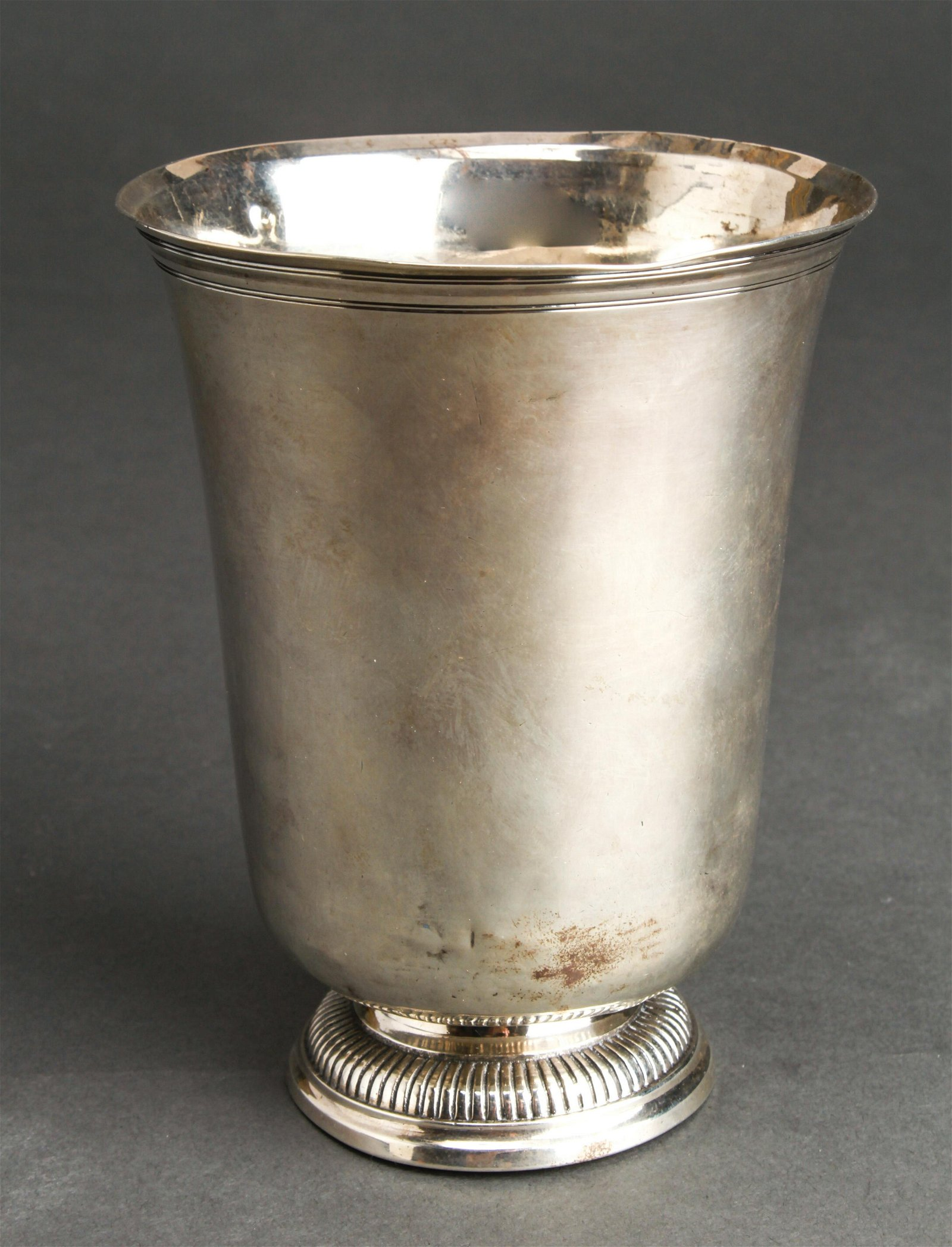 Louis-Jacques Berger French Silver Beaker