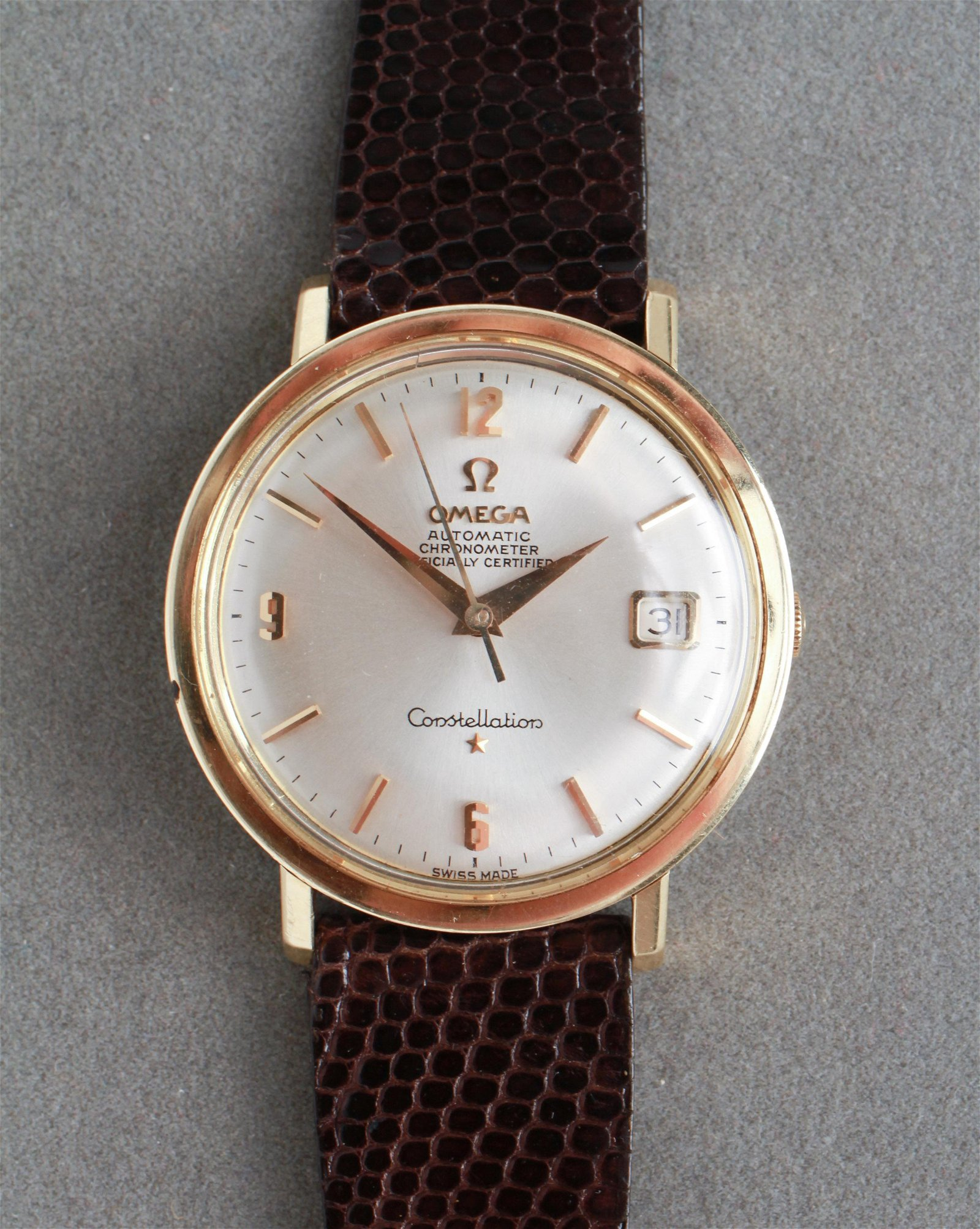 "Omega ""Constellation"" Automatic Chronometer Watch"