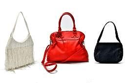 Ladies' Vintage Handbags incl. Ipa Nima, 3 Pcs.