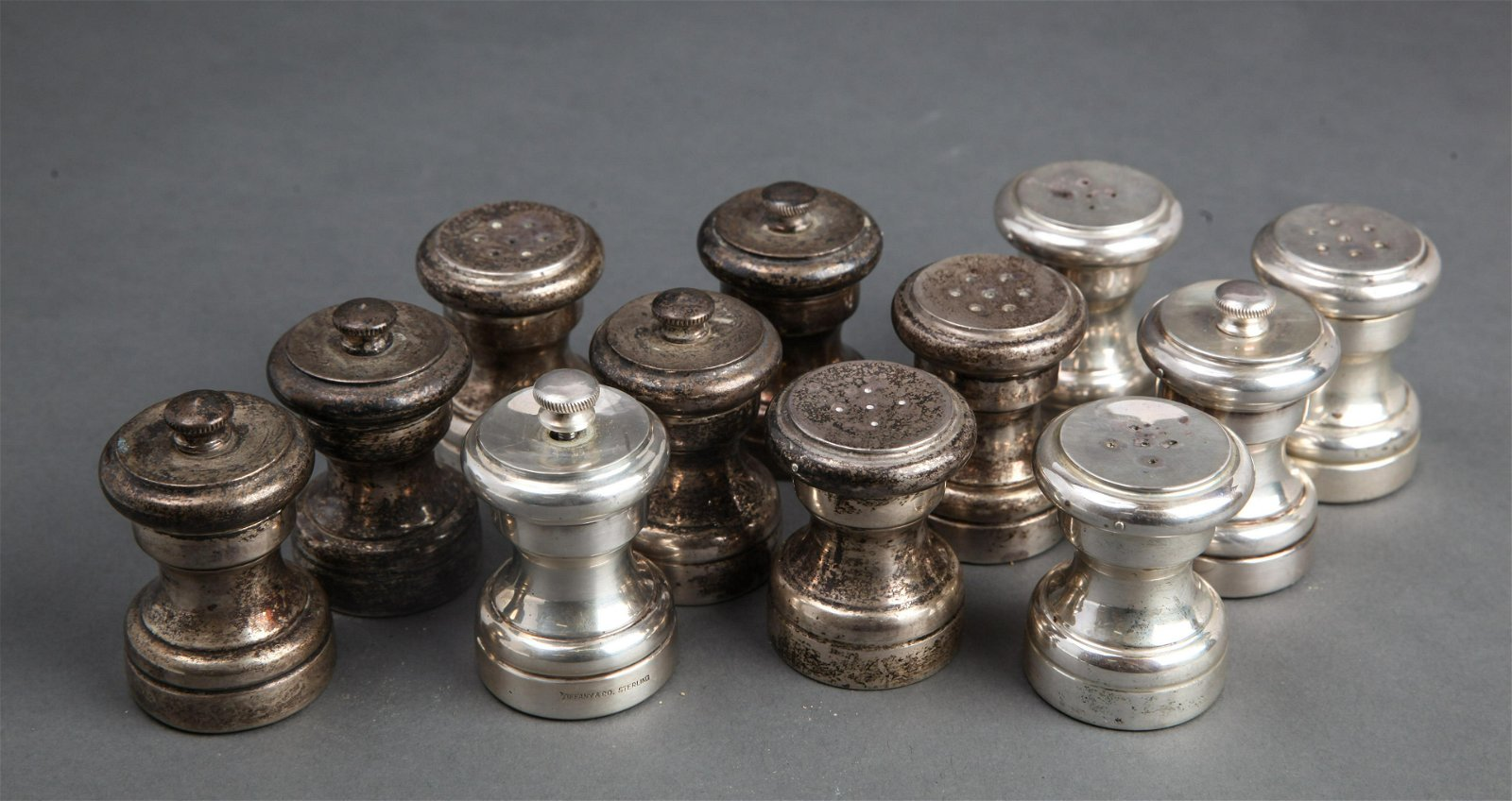 Tiffany & Co. Silver Salt & Pepper Shakers, 6