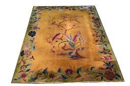 Nichols Chinese Art Deco Carpet 8 11 x 11 6