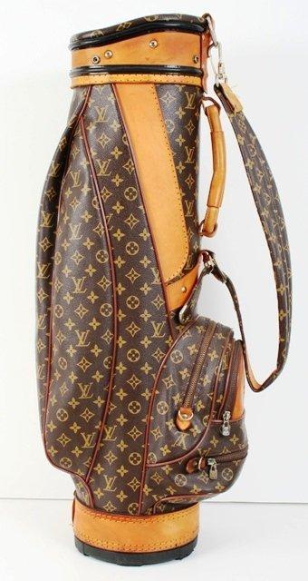 964be9f4155 1105: Louis Vuitton Golf Bag