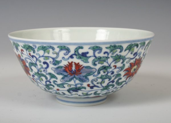 1334: Chinese 19/20th  Doucai Bowl