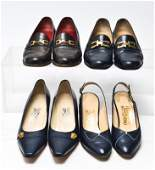 Salvatore Ferragamo Vintage Designer Shoes 4 Pairs