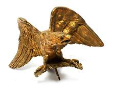 Gilt Bronze Eagle Bird Ornament Finial Sculpture