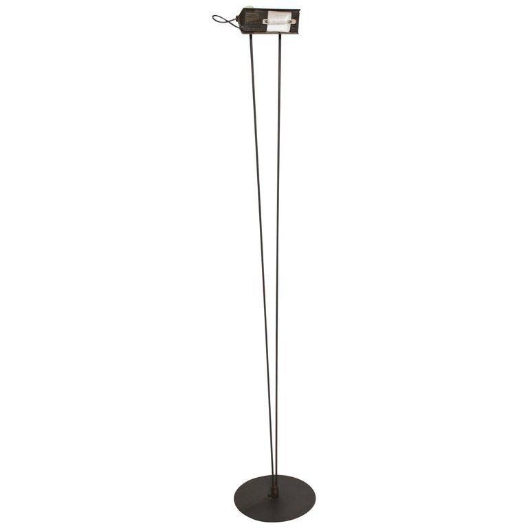 Koch & Lowy Modern Metal Floor Lamp