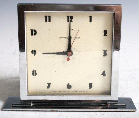 3003: Herman Miller Deco Clock  by Gilbert Rohde