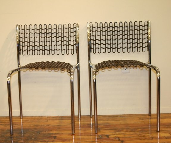 3004: Chairs by David Reuland for Thonet