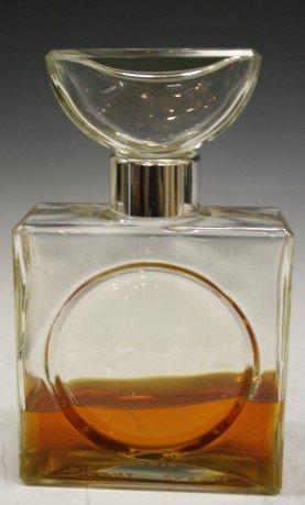 """3008: """"Pierre Cardin Parts"""" Large Perfume Bottle"""