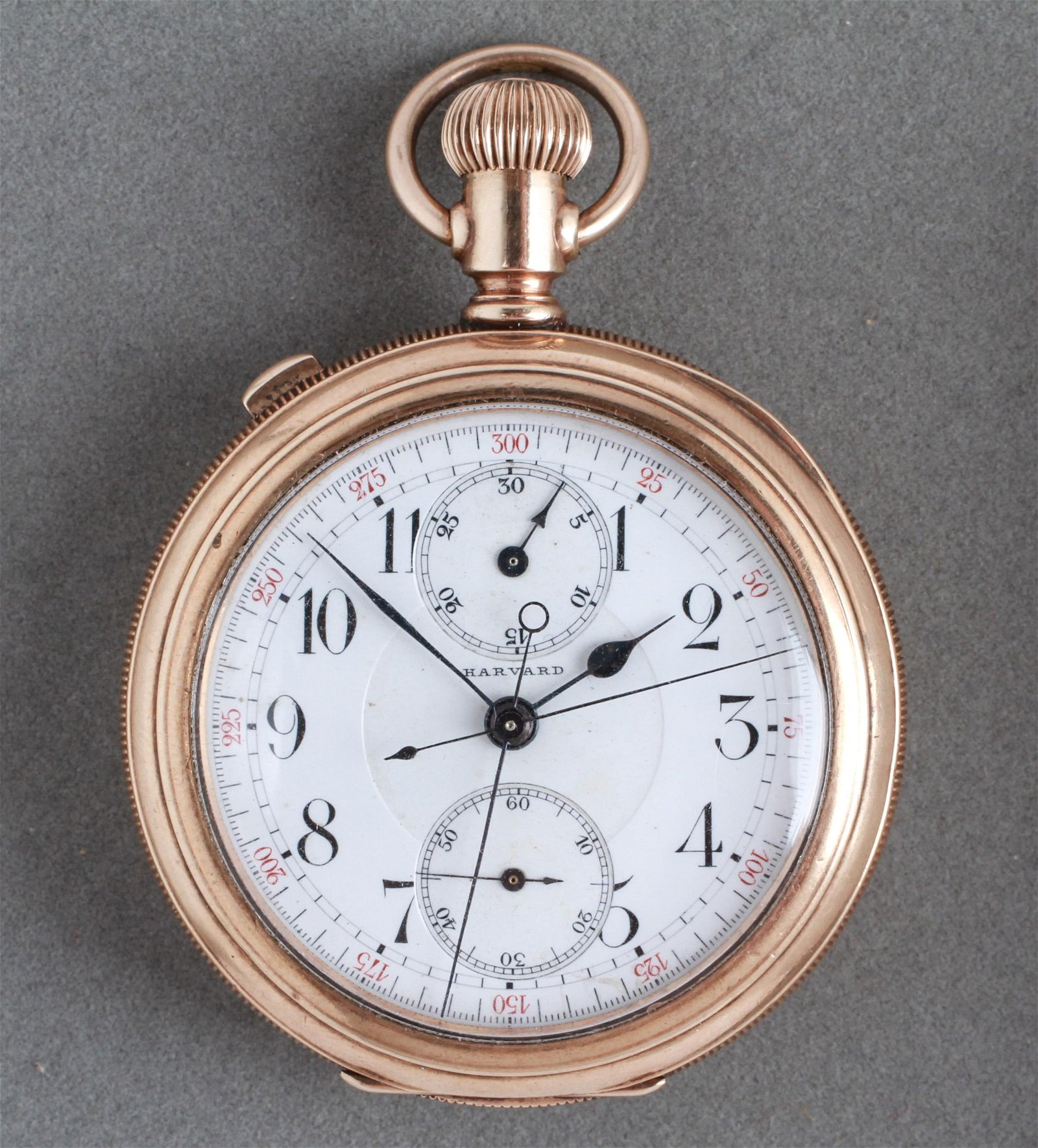 GF Split-Second Harvard Chronograph Pocket Watch
