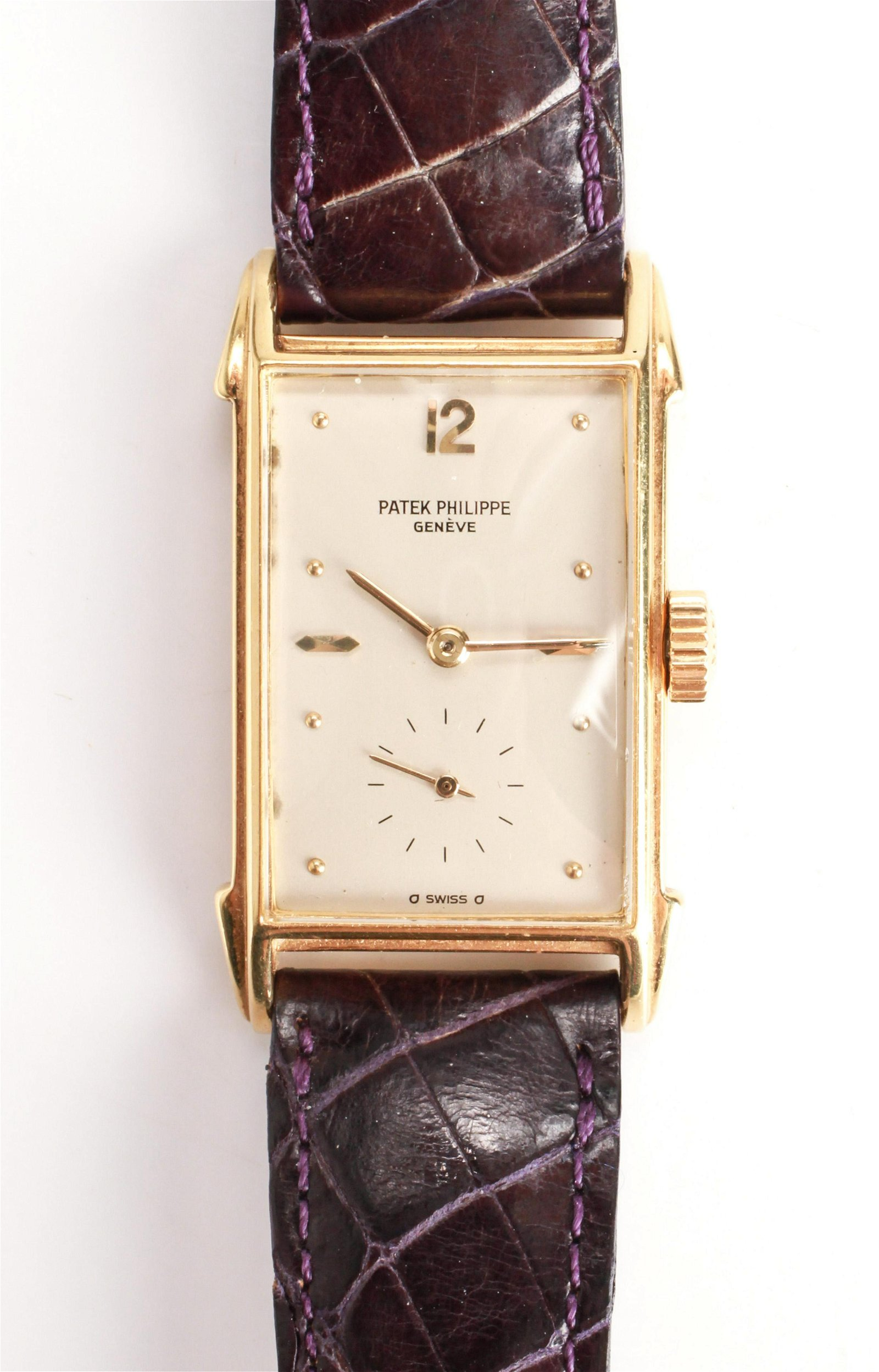 Rare Patek Philippe 18K Gold Watch C.1960