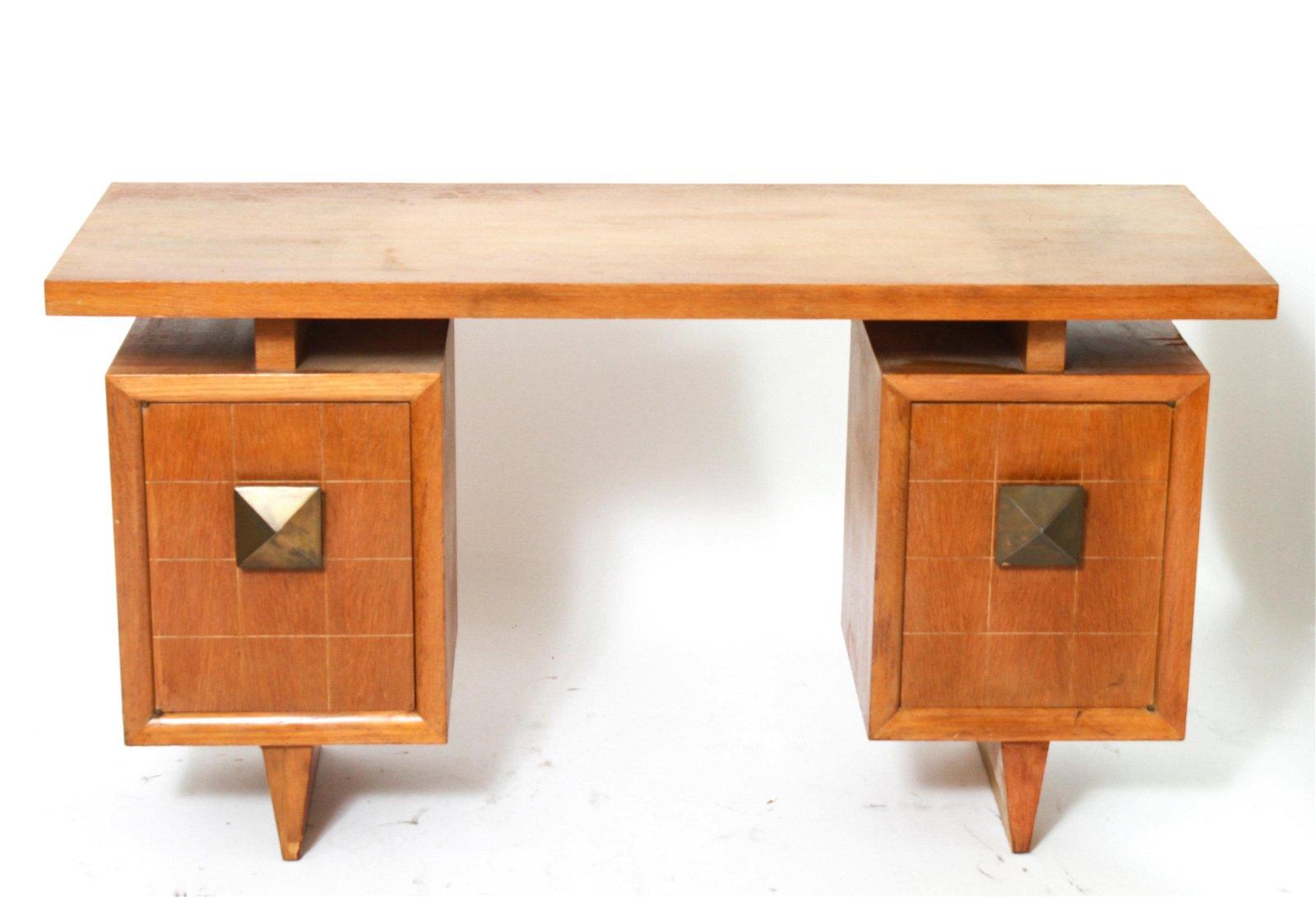 Paul Frankl Style Mid-Century Modern Desk
