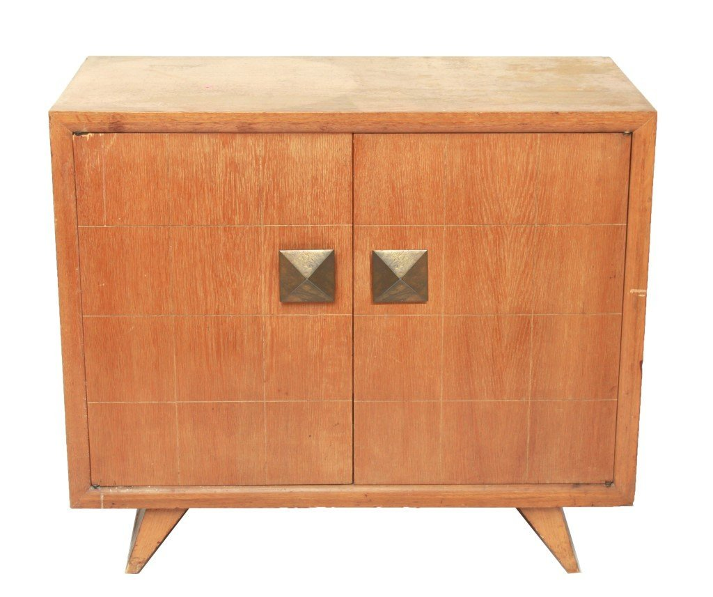 Paul Frankl Style Mid-Century Modern Chest