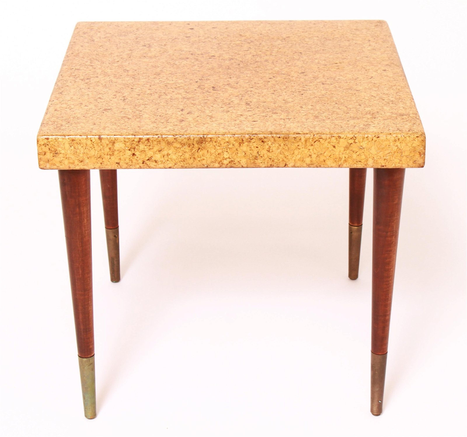 Paul Frankl Cork Square Top Occasional Table