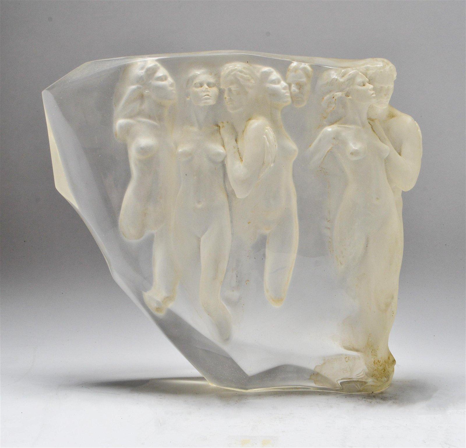 Frederick Hart Manner Resin Sculpture