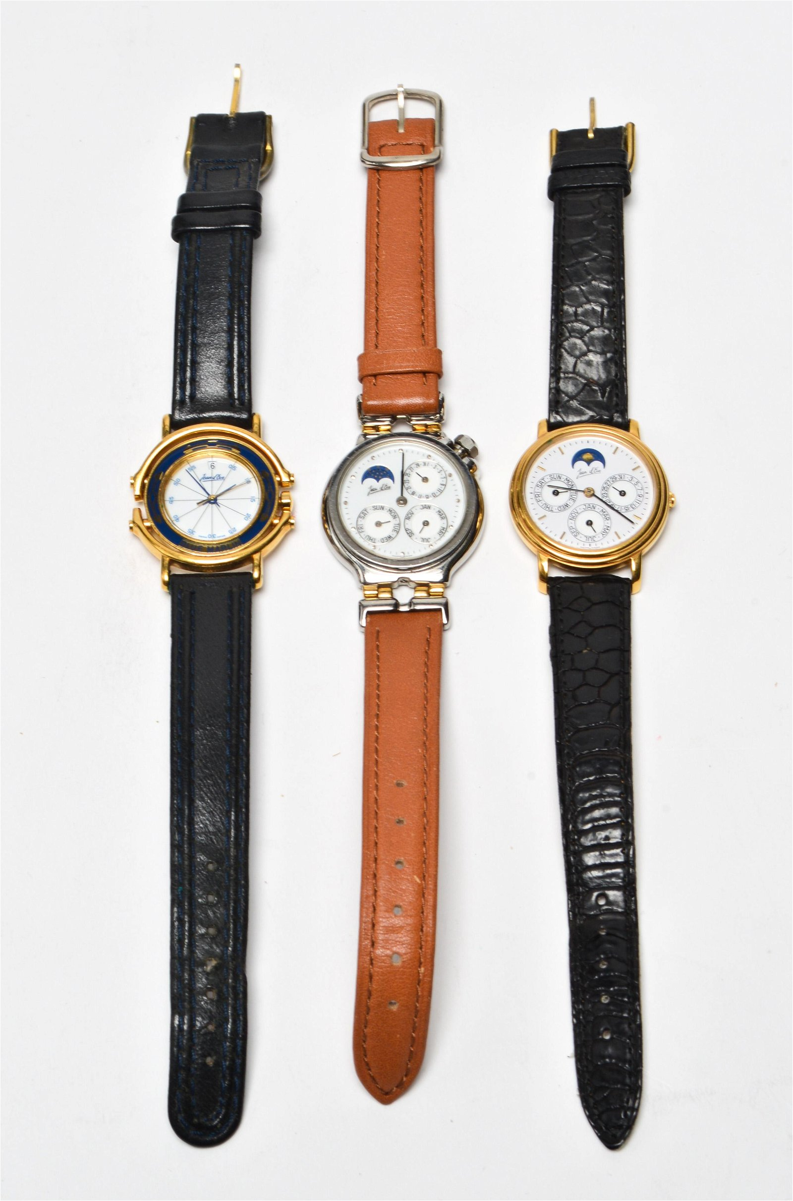 Jean d'Eve Ladies' Wrist Watches Group of 3