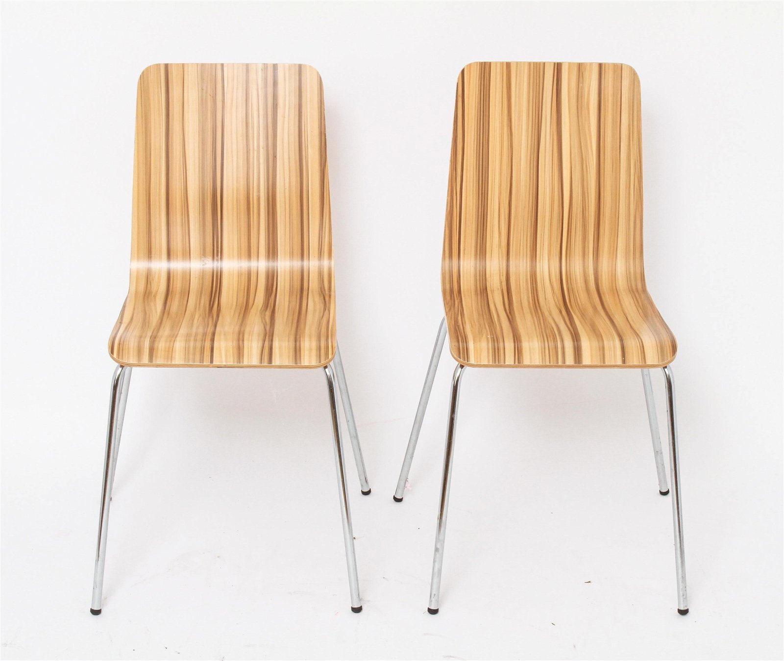 Mid-Century Modern Composite Bentwood Chairs