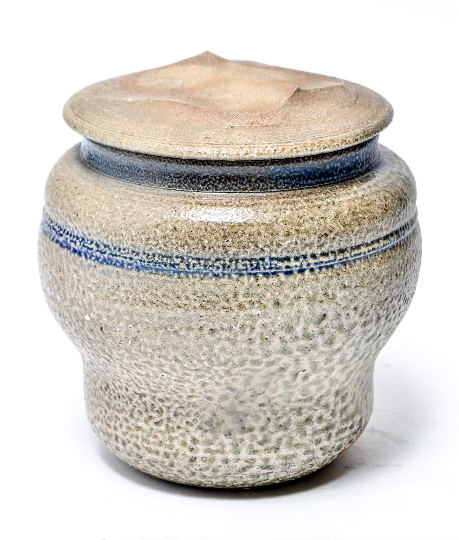 Karen Karnes Stoneware Art Pottery Covered Jar