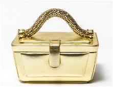 "Judith Leiber Vintage ""Suitcase"" Minaudiere / Bag"