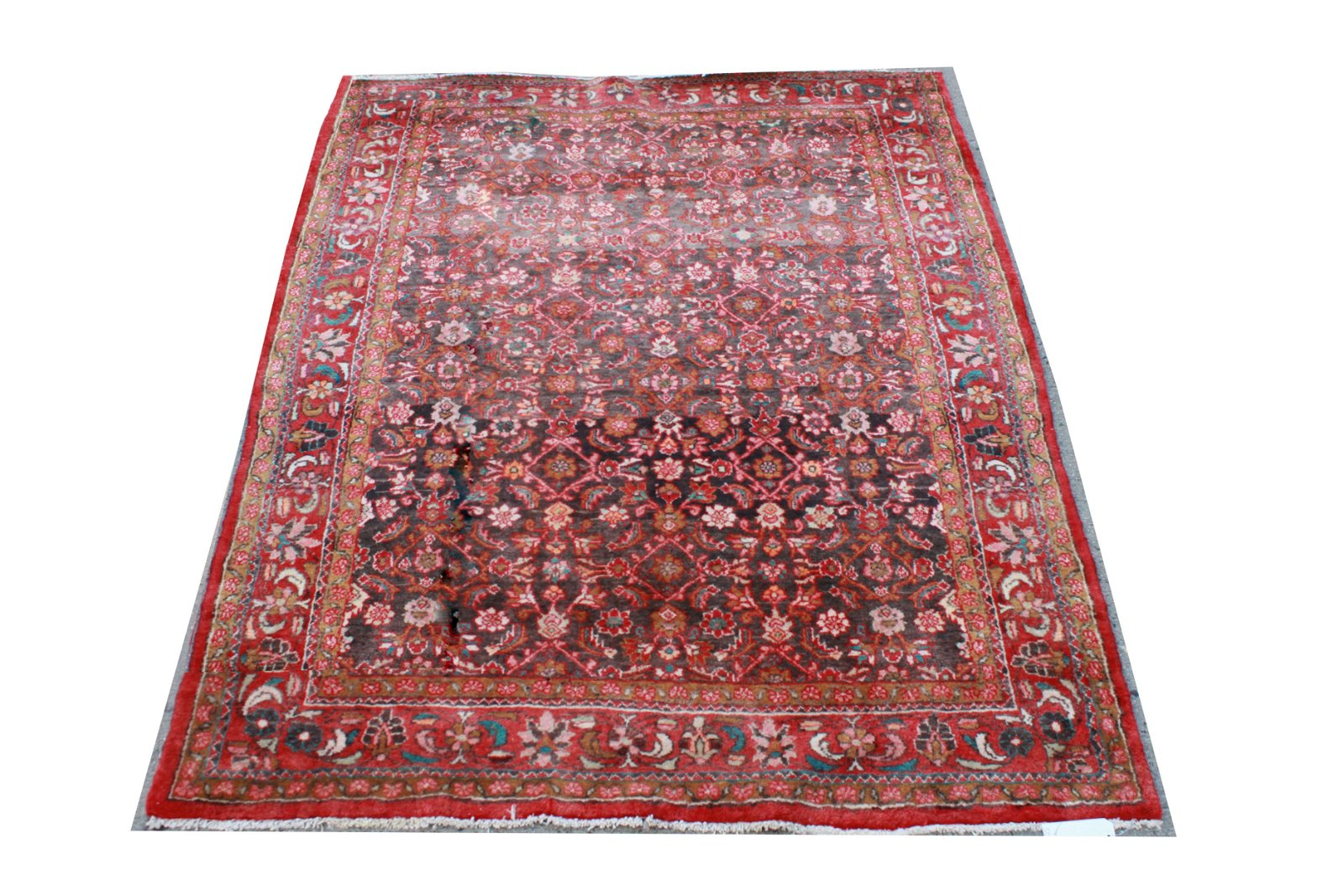 "Bijar Persian Carpet 5' 5"" x 6' 8"""