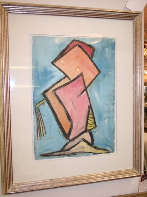 1B: Michael Lekakis (1907-1990) c.1950, Pastel