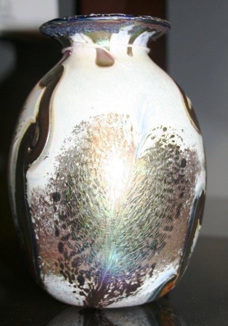 2: Contemp. Art Glass Vase Seattle