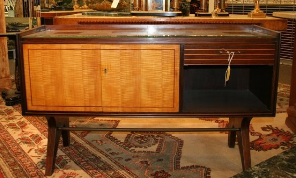 7: Art Deco Germany Liquor Cabinet early 20th c