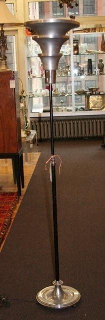 16: Art Deco Floor Lamp Tin Shade