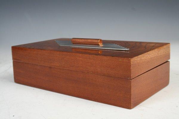 1232: Art Deco Trinket Box
