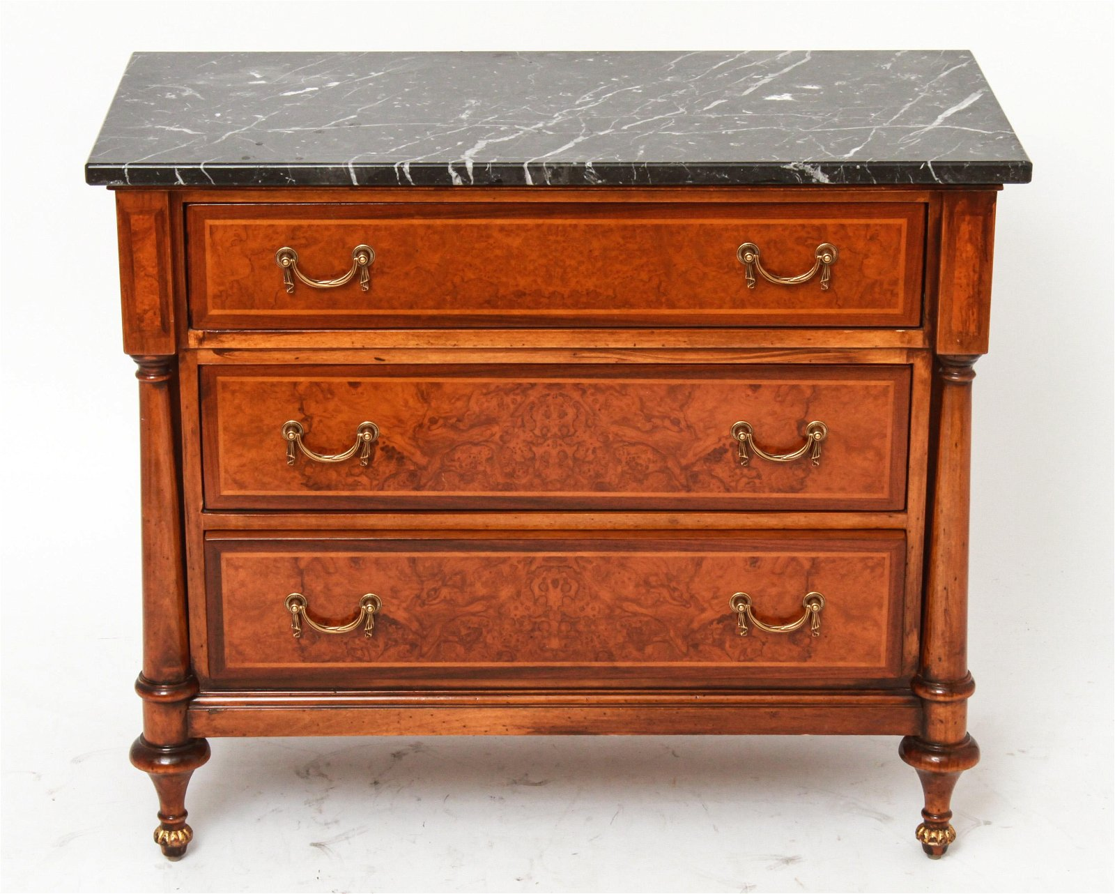Giemme Stiles Italian Marble Top Commode