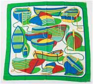 Hermes Thalassa Silk Scarf