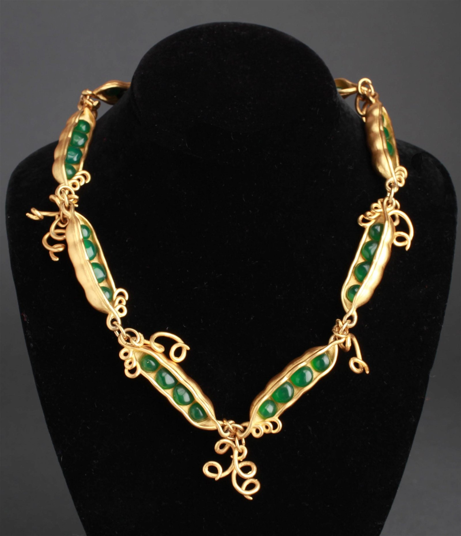 """Karl Lagerfeld """"Peas in a Pod"""" Necklace"""